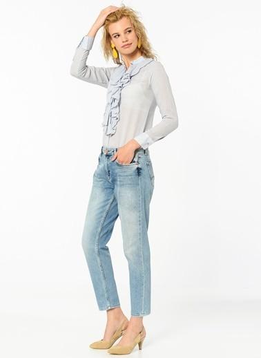 Lee Cooper Uzun Kollu Gömlek Mavi